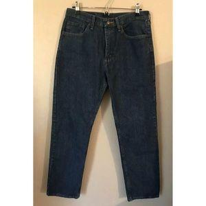 Wrangler Men's 32x30 Blue 100% Cotton Denim Jeans